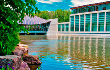 crystal bridges pond