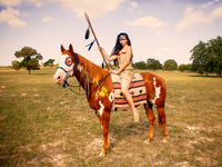 native american girl series #1