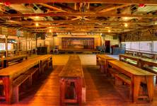 inside green hall (oldest dancehall in tx)