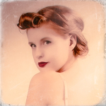 pin-up girl series #13 (vintage magazine style)