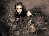 amazon woman on location series sepia #1