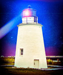 lighthouse on the bay