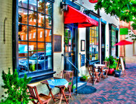 cafe fontaine (old town alexandria, va)