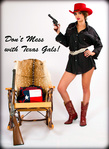 the cowgirl series - don't mess with texas gals!